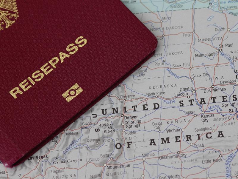 änderung Rücksendung Des Reisepasses Nach Interview Im Us Konsulat